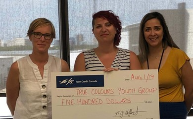 True Colours receives donation